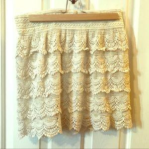 Like new lace skirt